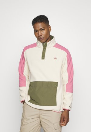 DENNISTON - Sweat polaire - light taupe