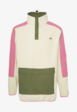 DENNISTON - Fleece jumper - light taupe
