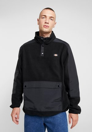 DENNISTON - Fleece jumper - black