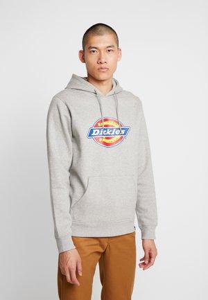 SAN ANTONIO - Bluza z kapturem - gray melange