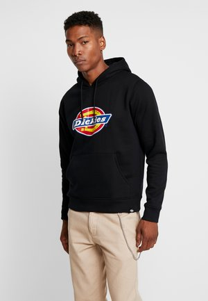 SAN ANTONIO - Sweat à capuche - black