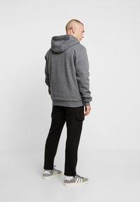 Dickies - FRENCHBURG - veste en sweat zippée - dark heather - 2