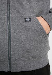 Dickies - FRENCHBURG - veste en sweat zippée - dark heather - 5