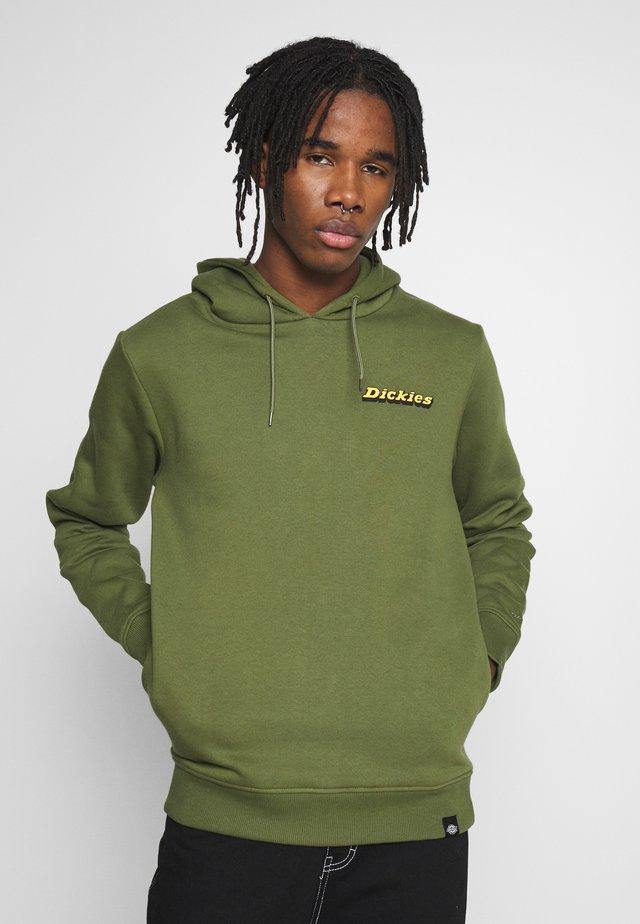 ESOM HILL - Hoodie - army green