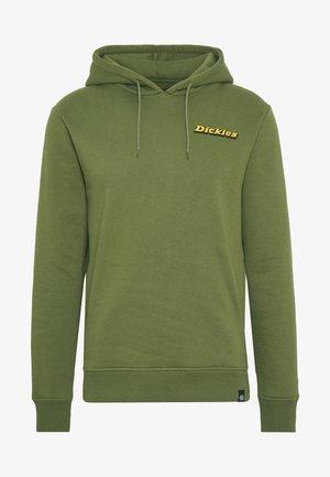 ESOM HILL - Mikina skapucí - army green