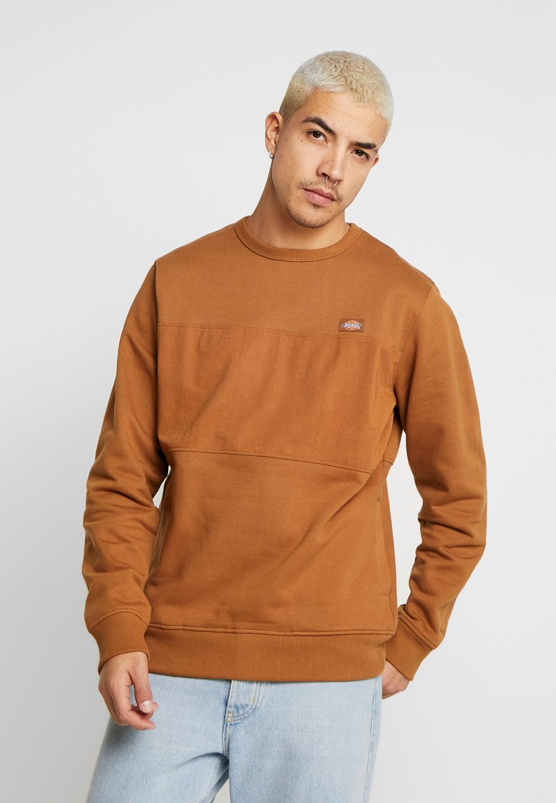 Dickies - FAIRVIEW - Sweatshirt - brown duck