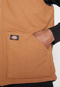 Dickies - LAWRENCEBURG - Veste sans manches - brown duck - 5