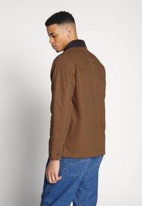 Dickies - BALTIMORE JACKET - Summer jacket - brown duck - 2