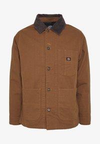 Dickies - BALTIMORE JACKET - Summer jacket - brown duck - 5
