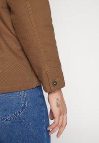 Dickies - BALTIMORE JACKET - Summer jacket - brown duck - 6