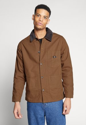 BALTIMORE JACKET - Tunn jacka - brown duck