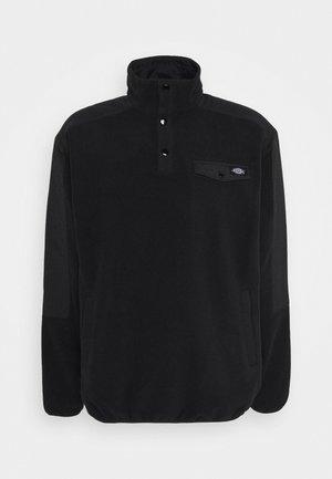 PORT ALLEN - Fleece jacket - black