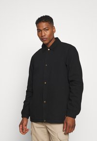 Dickies - BUSKIRK COACH JACKET - Summer jacket - black - 0
