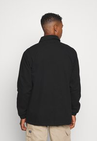Dickies - BUSKIRK COACH JACKET - Summer jacket - black - 2