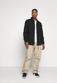 Dickies - BUSKIRK COACH JACKET - Summer jacket - black - 1