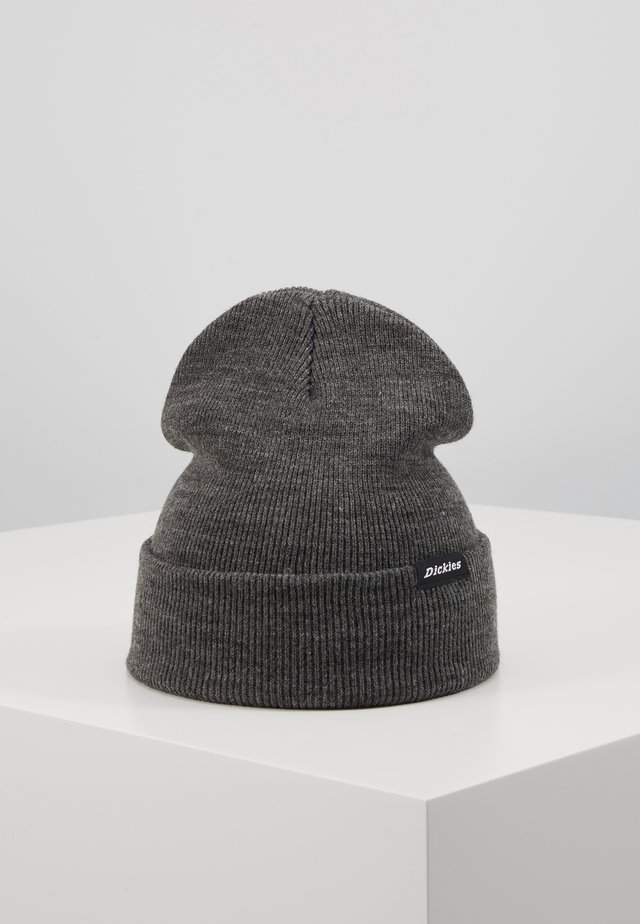 ALASKA BEANIE HAT - Pipo - dark grey melange