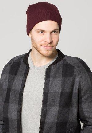 ALASKA BEANIE HAT - Mütze - maroon