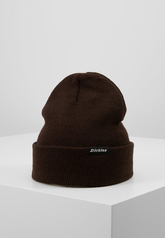 ALASKA BEANIE HAT - Mütze - dark brown