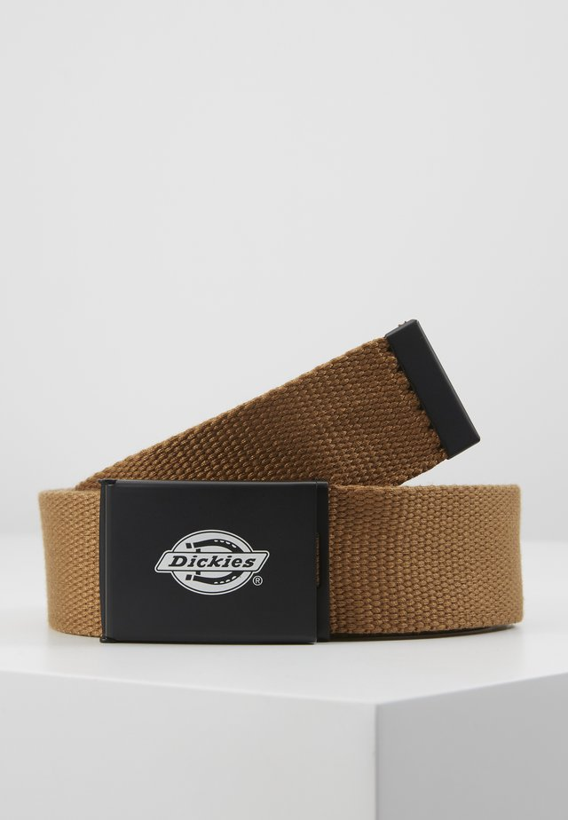 ORCUTTWEBBING BELT - Gürtel - brown duck