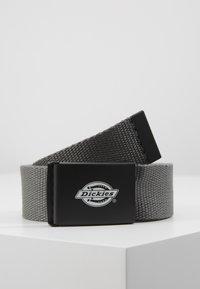 Dickies - ORCUTTWEBBING BELT - Belt - charcoal grey - 0