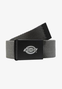 Dickies - ORCUTTWEBBING BELT - Belt - charcoal grey - 1