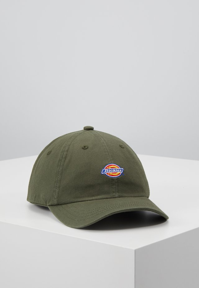 HARDWICK 6 PANEL LOGO CAP - Keps - army green