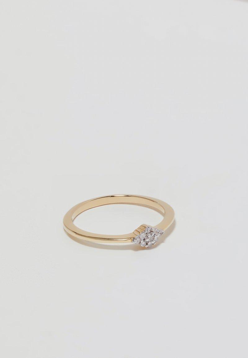 DIAMANT L'ÉTERNEL - Bague - gold-coloured