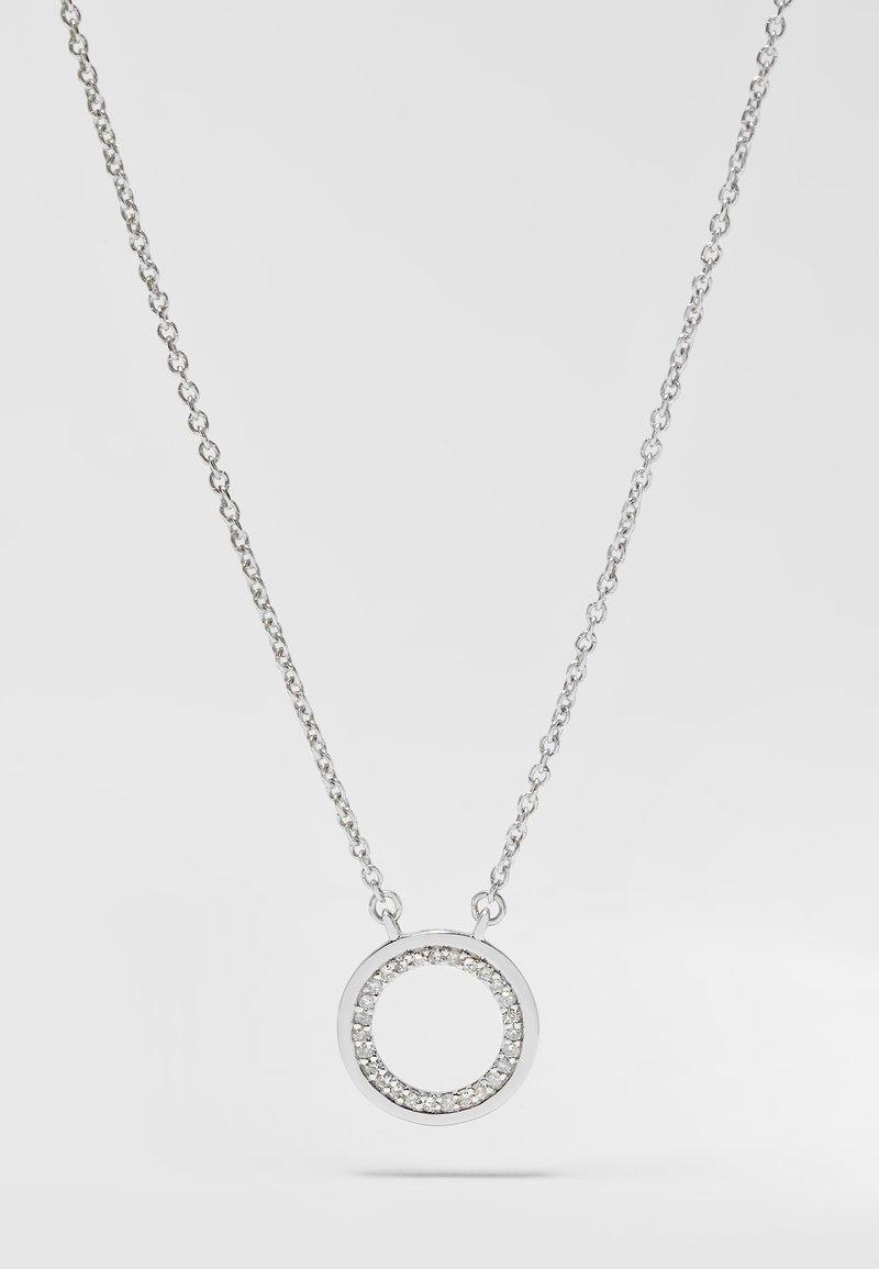DIAMANT L'ÉTERNEL - Necklace - silver-coloured