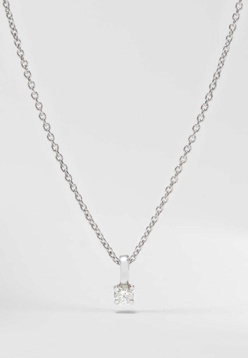 DIAMANT L'ÉTERNEL - Collier - silver-coloured
