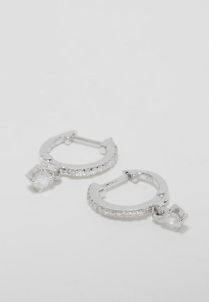 Boucles d'oreilles - silver-coloured