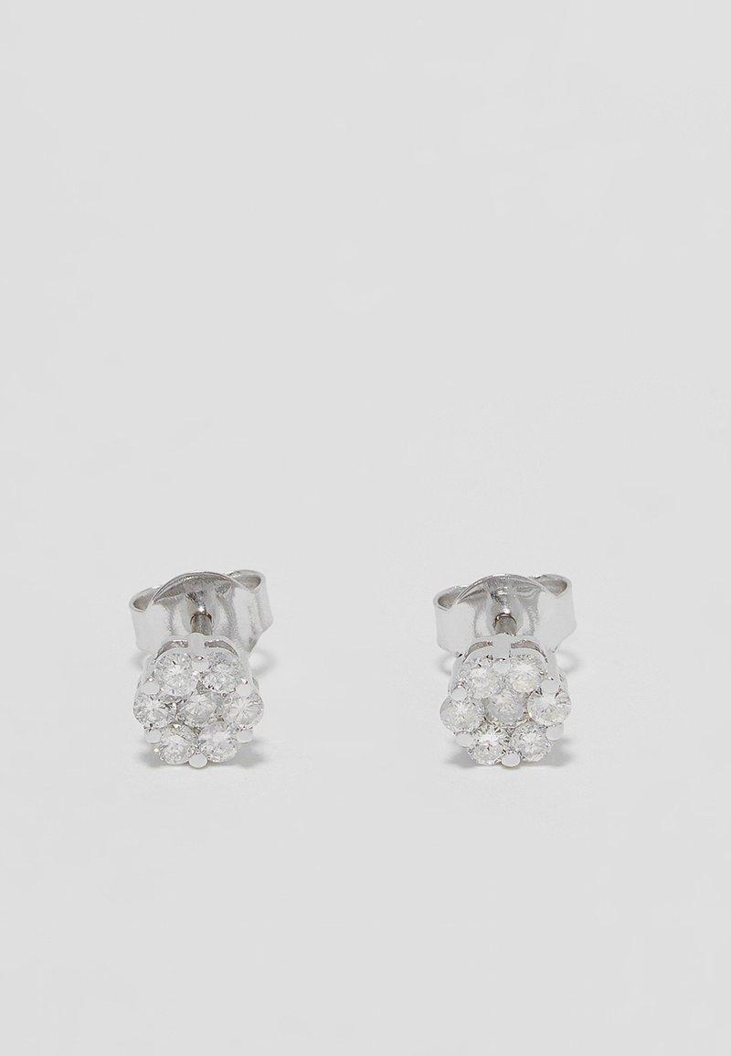 DIAMANT L'ÉTERNEL - Orecchini - silver-coloured