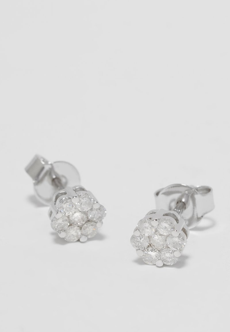 DIAMANT L'ÉTERNEL - Boucles d'oreilles - silver-coloured