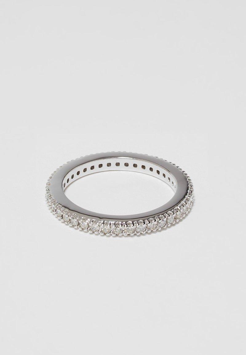 DIAMANT L'ÉTERNEL - Prsten - silver-coulored