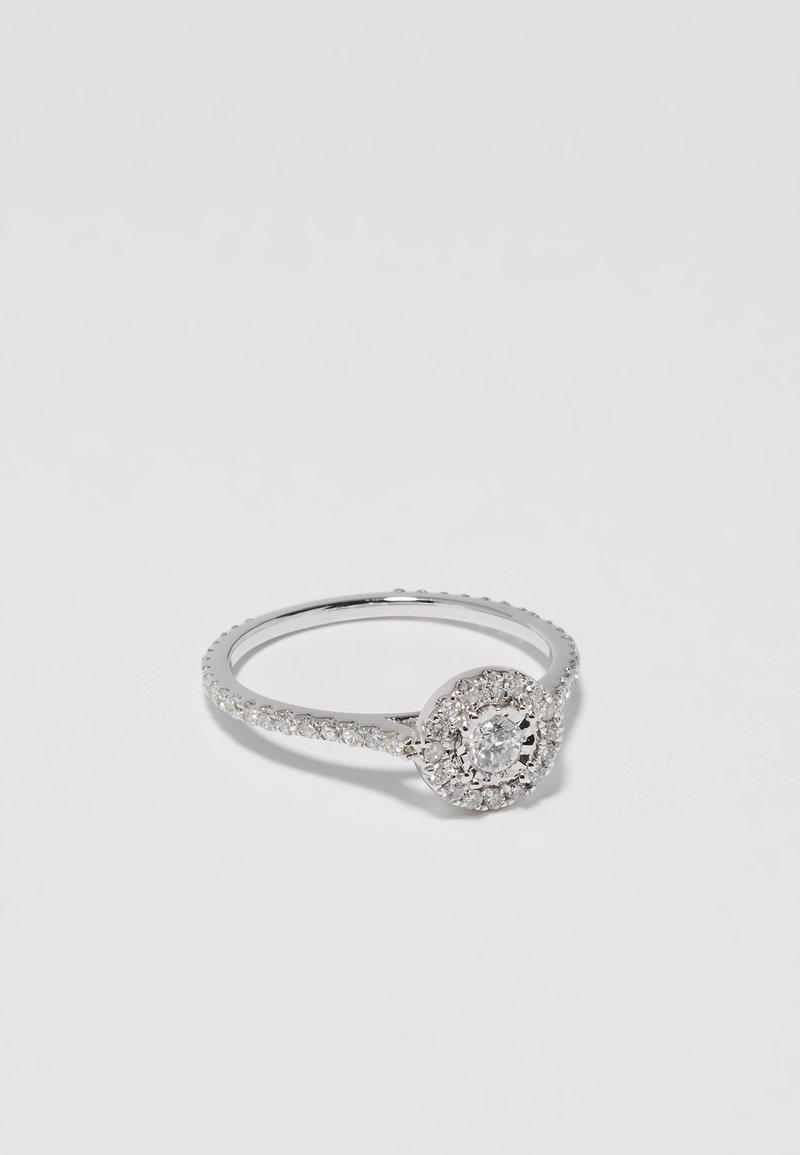 DIAMANT L'ÉTERNEL - Bague - silver-coloured