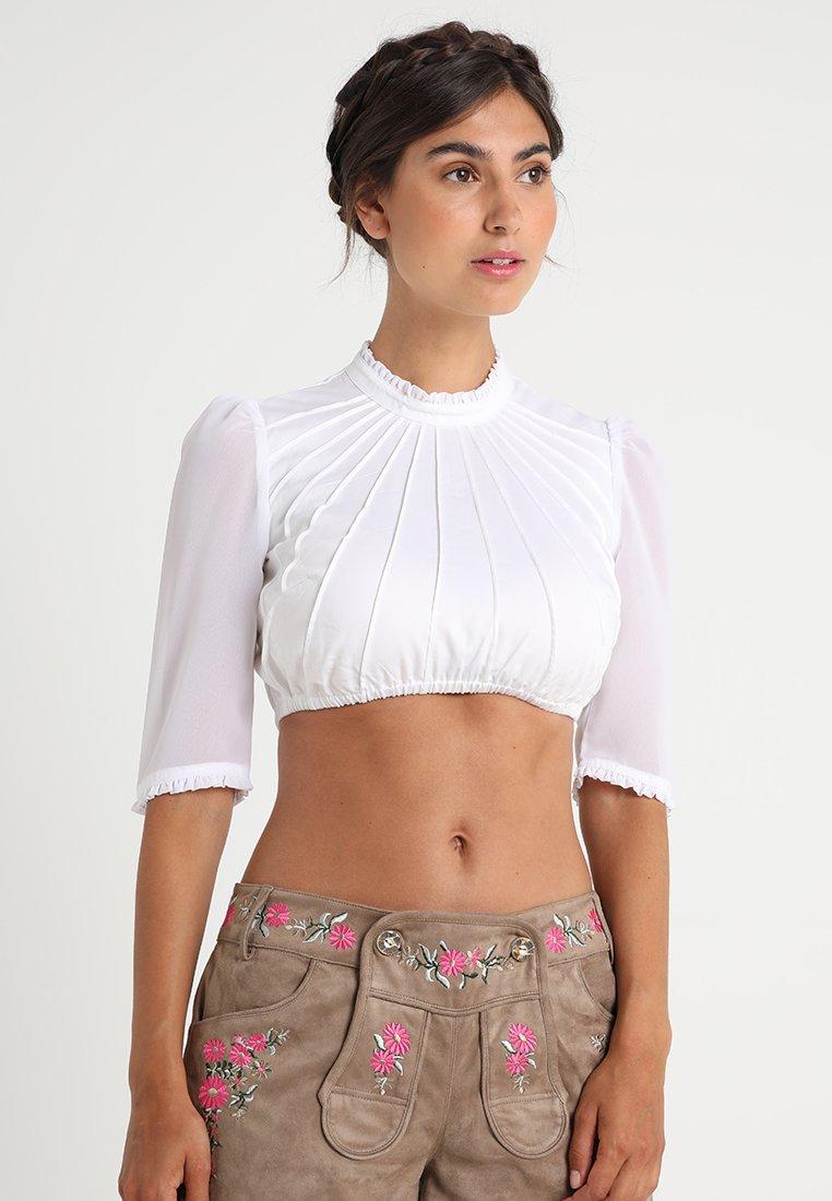 Dirndlalm - DORA MARIE - Bluse - white