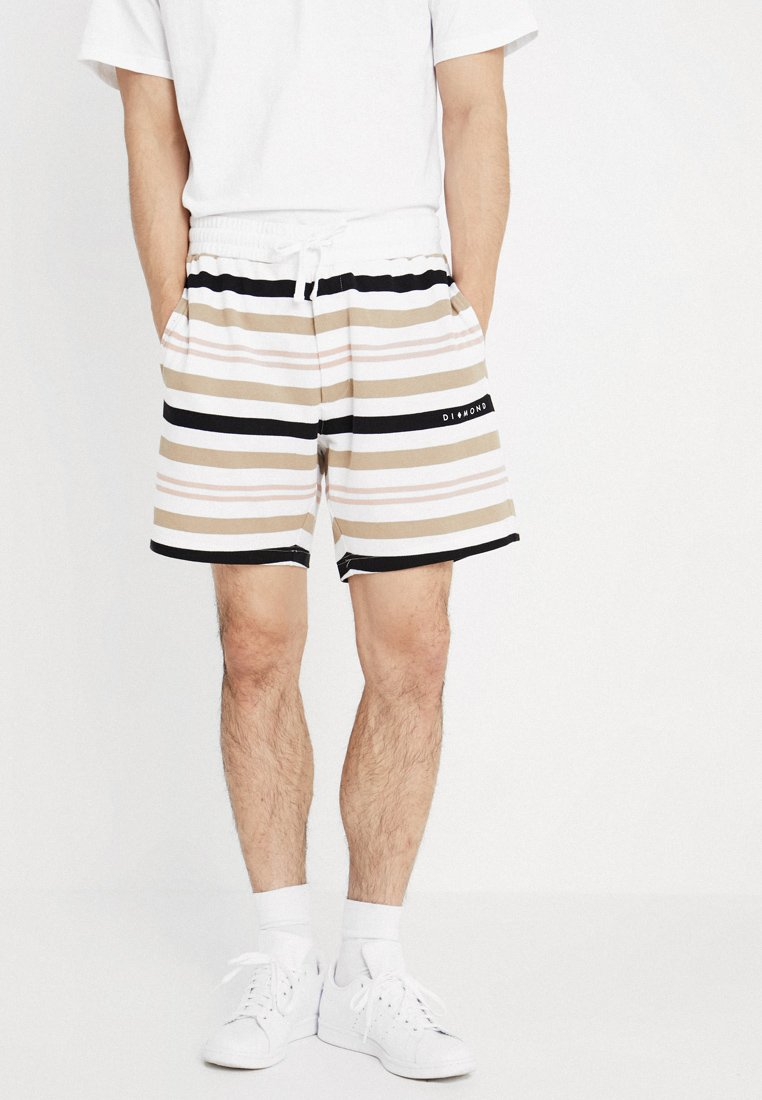 Diamond Supply Co. - MARQUISE STRIPED - Jogginghose - white