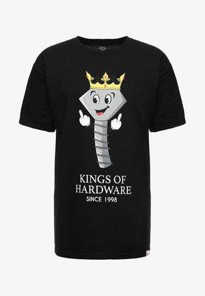 KINGS OF HARDWARE TEE - T-shirt print - black
