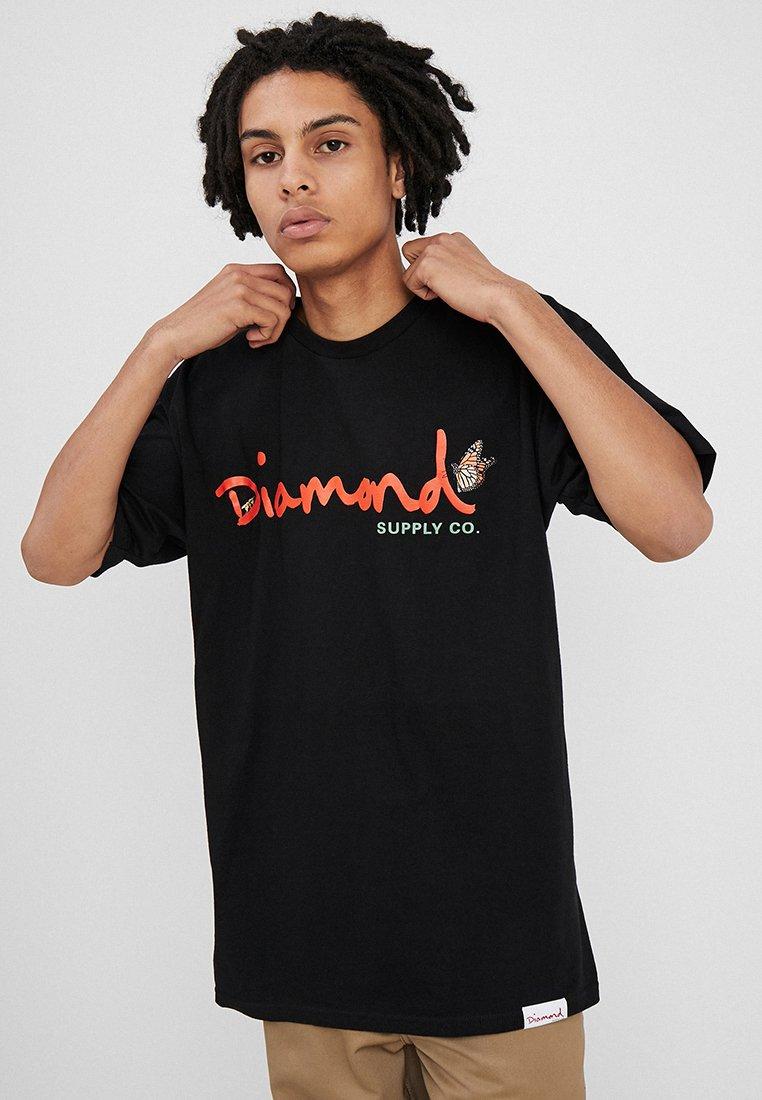 Diamond Supply Co. - PARADISE SCRIPT TEE - T-Shirt print - black