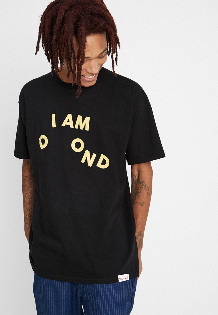 Diamond Supply Co. - I AM TEE - T-Shirt print - black