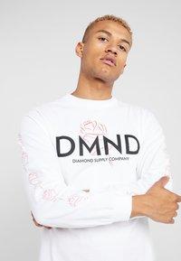 Diamond Supply Co. - AMOUR TEE - Camiseta de manga larga - white - 4