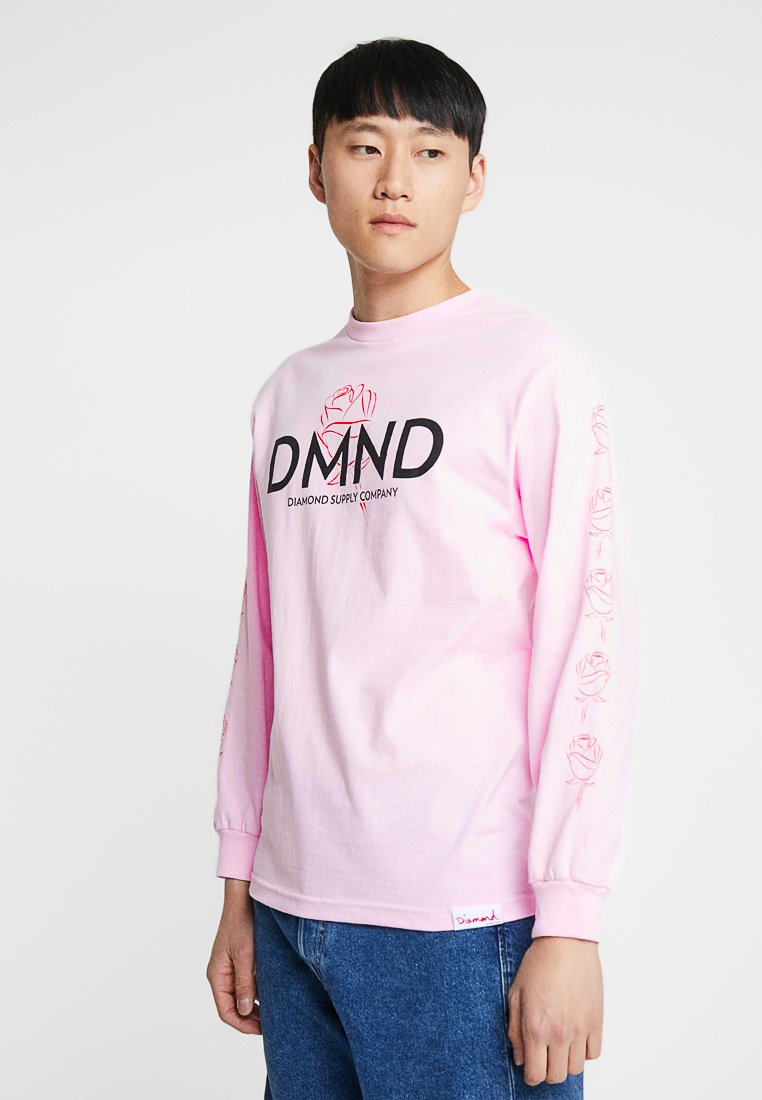Diamond Supply Co. - AMOUR TEE - Long sleeved top - pink