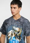 Diamond Supply Co. - SERPENT - T-shirts print - black crystal wash