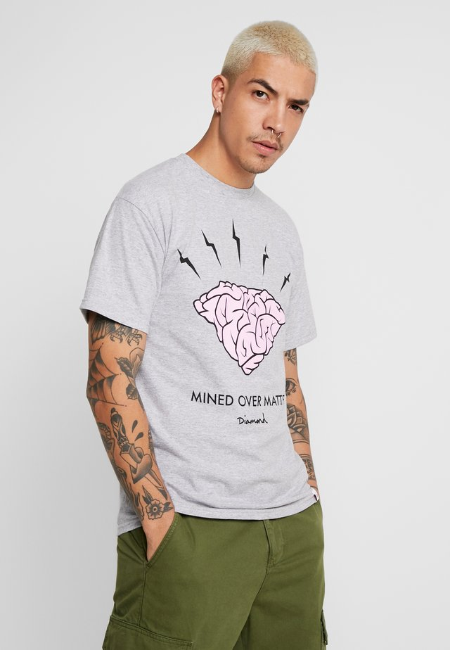 HEADSTRONG - T-shirt med print - heather grey