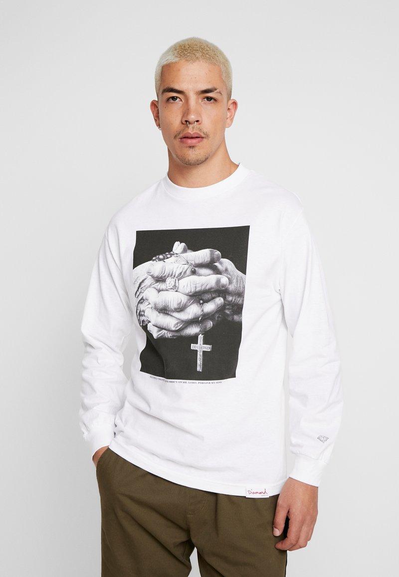 Diamond Supply Co. - MERCY TEE - Langarmshirt - white