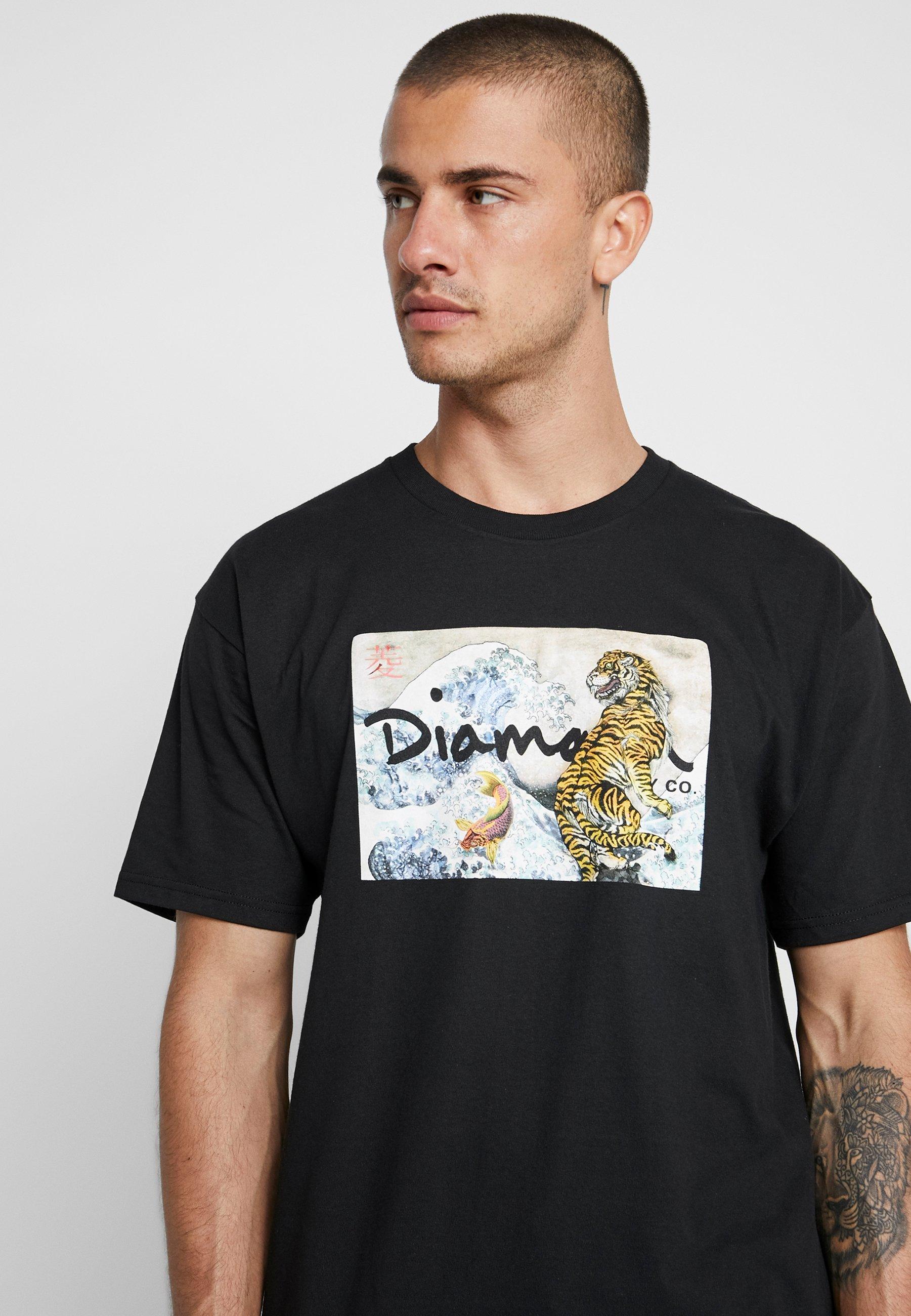 Diamond shirt Wave CoTiger TeeT Stampa Black Con Supply WDHIbe9E2Y