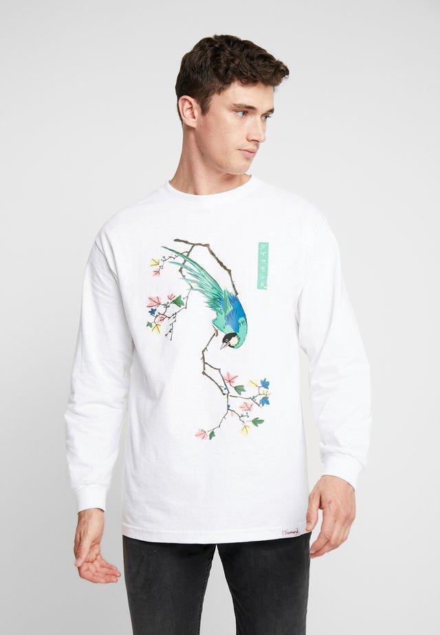 PERCHED TEE  - Langarmshirt - white