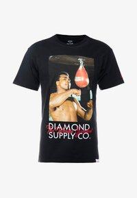 Diamond Supply Co. - WORLD GREATEST SHORT SLEEVE TEE - Triko spotiskem - black - 3