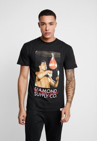 Diamond Supply Co. - WORLD GREATEST SHORT SLEEVE TEE - Triko spotiskem - black - 0
