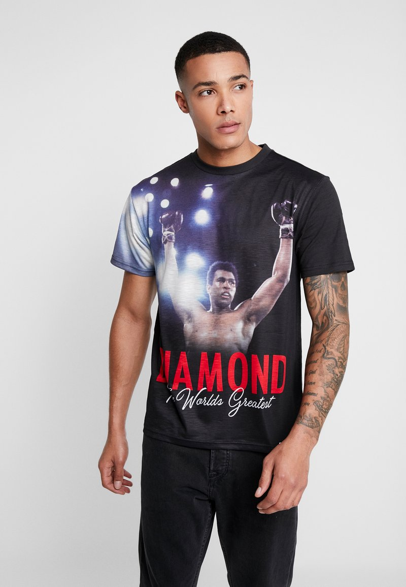 Diamond Supply Co. - THE CHAMP SHORTSLEEVE TEE - Triko s potiskem - black