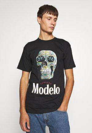 CALAVERA TEE - Print T-shirt - black